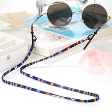 Load image into Gallery viewer, 1Pc 6 Colors New Leather Eyeglass Cord Adjustable End Glasses Holder Colorful Leather Glasses Neck Strap String Rope Band