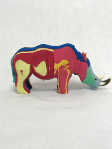 Recycled Flip-Flop Rhino (Small) - 10 units