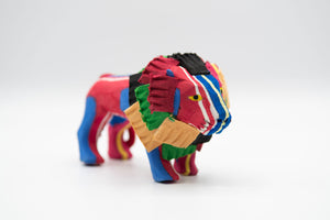 Recycled Flip-Flop Lion (Small) - 10 units
