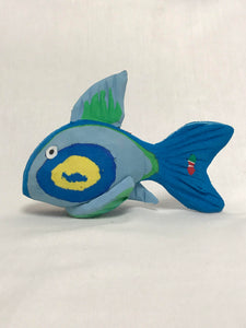 Recycled Flip-Flop Fish (Small) - 10 units
