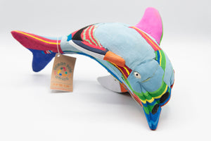 Recycled Flip-Flop Dolphin (Medium) - 10 units