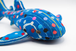 Recycled Flip-Flop Whale Shark (Medium) - 10 units