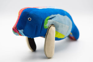 Recycled Flip-Flop Manatee (Medium) - 10 units