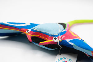 Recycled Flip-Flop Manta Ray (Medium) - 10 units