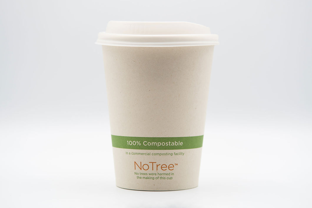 NoTree™ Paper Hot/Cold Cup (8oz) - 1000 units