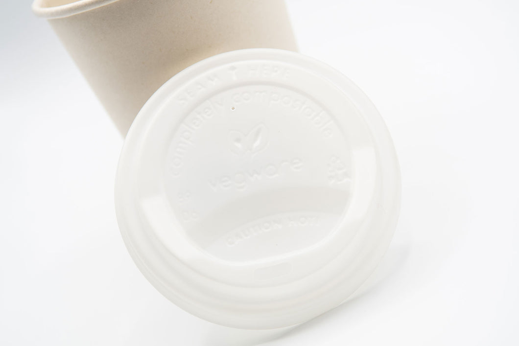 Hot Cup Dome Lid Fits 8oz Cups - 1000 units