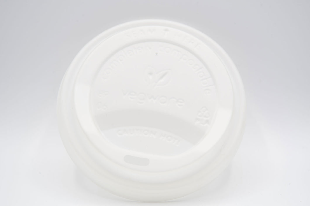 Hot Cup Dome Lid (fits10 to 20 oz cups) - 1000 units