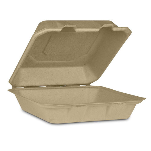 Take-Out Food Container Hinged (Large) - 200 units