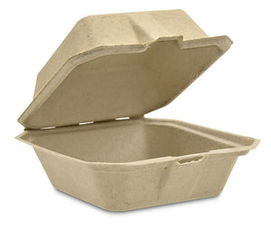 Take-Out Food Container Hinged (Small) - 500 units