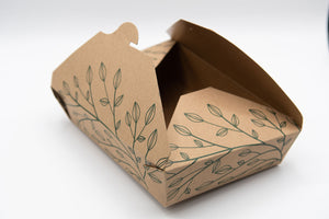 Eco Box - Fold-To-Go Container (Large) - 160 units