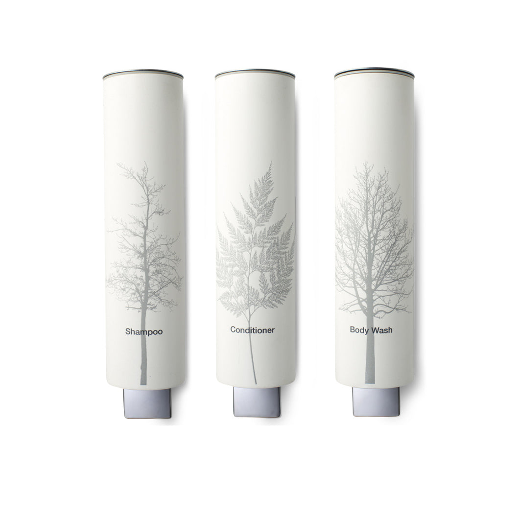 Grey Trees Dispenser Trio (12 oz)