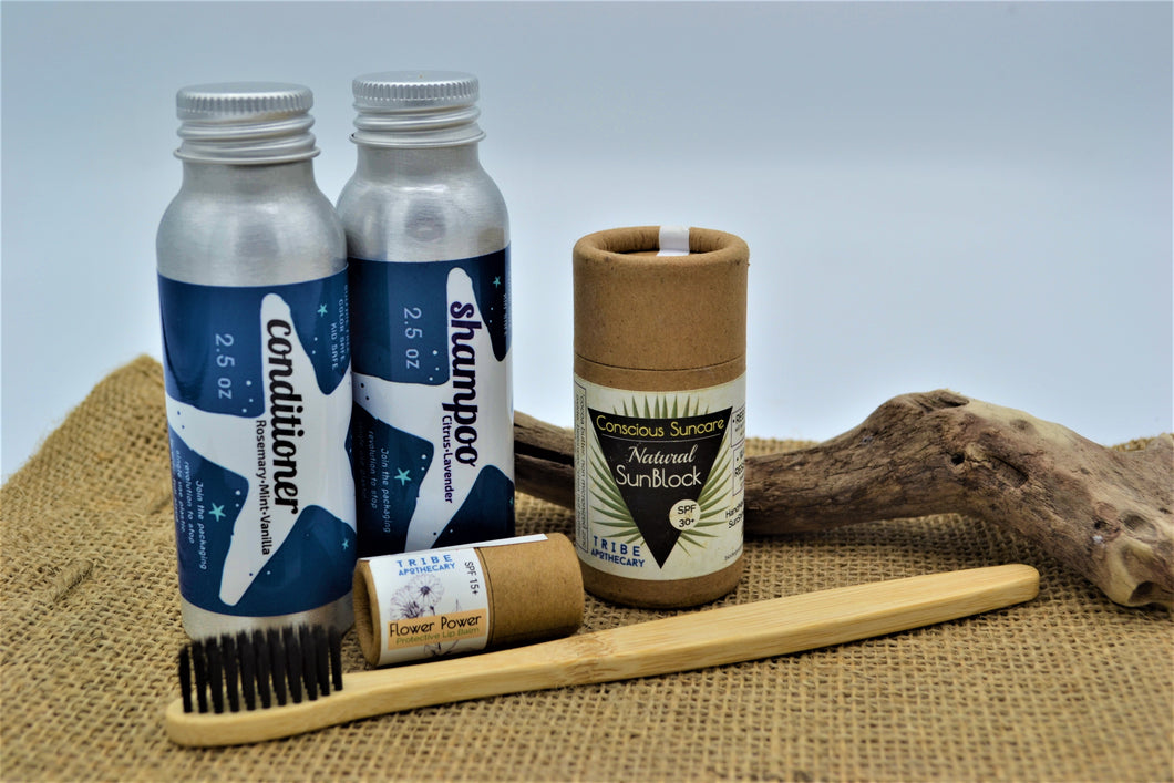 Earth911 Tread Lightly - Eco Collections Travel Kit