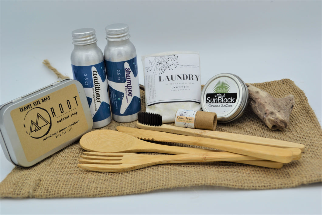Eco Collections Travel Kit - Deluxe Version