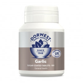 Natural Health Remedy For Dogs. Garlic Tablets.100 Tablets.