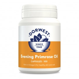 Evening Primrose Oil For Dogs. 100 Capsules