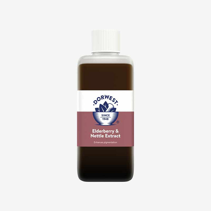 Dog Skin And Coat Care With  Elderberry & Nettle Extract