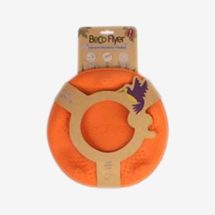DOG TOY. NATURAL ECO RUBBER FLYER