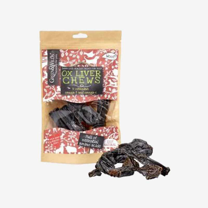 Natural and  Healthy Dog Chews. Ox Liver Chews. 100% Naturally Air Dried.