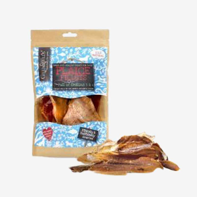 Healthy Dog Treats. Plaice Fillets. 100% Natural air Dried with Great Fishy Goodness.
