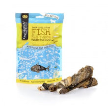 Load image into Gallery viewer, Healthy Dog Treats. Fish Deli Twists. 100% Naturally Dried Fish Skin From British Waters