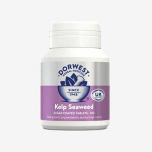 Kelp Seaweed Tablets For Dogs.100 Tablets. Good for Coat Loss and Weight Gain