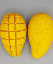 Load image into Gallery viewer, Dog Toy. Mango. Chew And Treat Dispenser. Made With Eco Friendly Natural Food Grade Rubber
