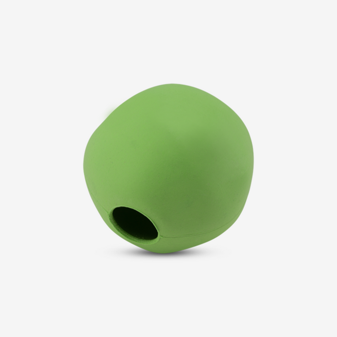 DOG TOY. NATURAL & ECO RUBBER TREAT BALL