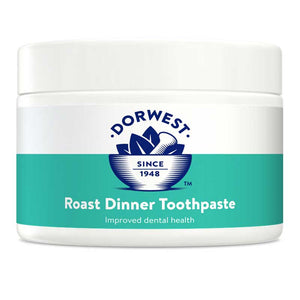 Dog Toothpaste. Roast Dinner - 200g. With Sage oil and Liver flavour.