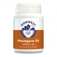 Load image into Gallery viewer, Wheatgerm Oil Capsules For Dogs. 100 Capsules. Natural Antioxidant With Vitamin E
