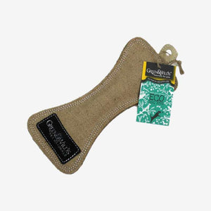 Funny Bone - Eco Dog Toy. Made From Sustainably Sourced Jute