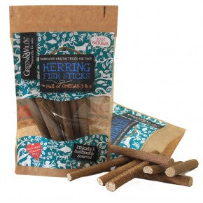 Healthy Dog Treats. Herring Fish Sticks. 100% Natural Treats, Packed With Proteins, Oils And Vitamins