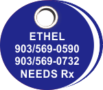 Round ID Tag