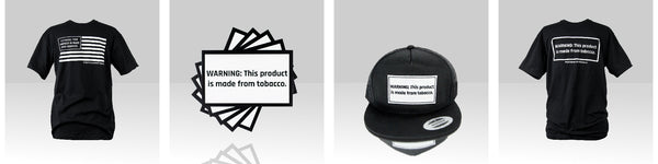 Liquid Barn Tobacco Warning Merchandise