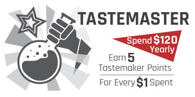 Tastemaster - $120 Yearly - 5 Points Per $1