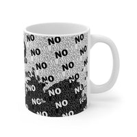 No Alarms Mug