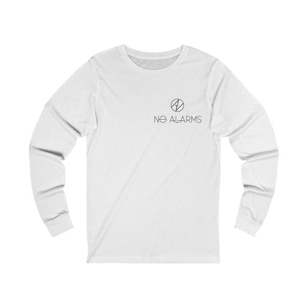 No Alarms Collage Long Sleeve