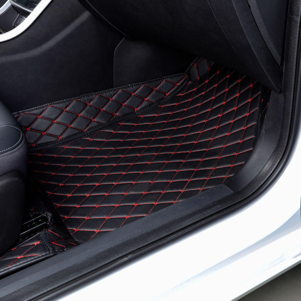 diamond car mats, diamond floor mats, diamond auto mats