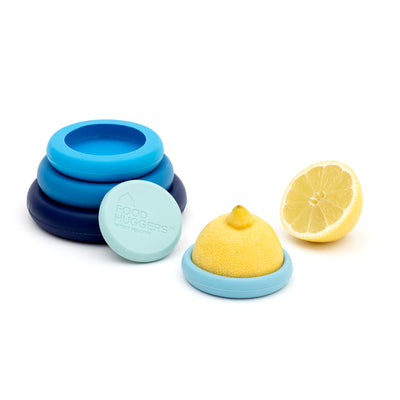 Set of 5 Food Huggers - Ice Blue