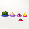 Set of 5 Food Huggers - Bright Berry-Silicone Food Saver-Food Huggers