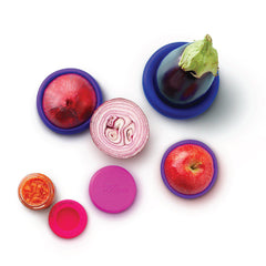 Bright Berry Set of 5 Food Huggers