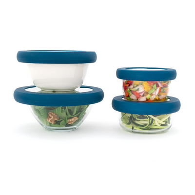 Food Huggers Set of Lids