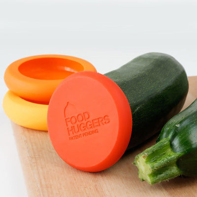 Set of 5 Food Huggers - Autumn Harvest-Silicone Food Saver-Food Huggers