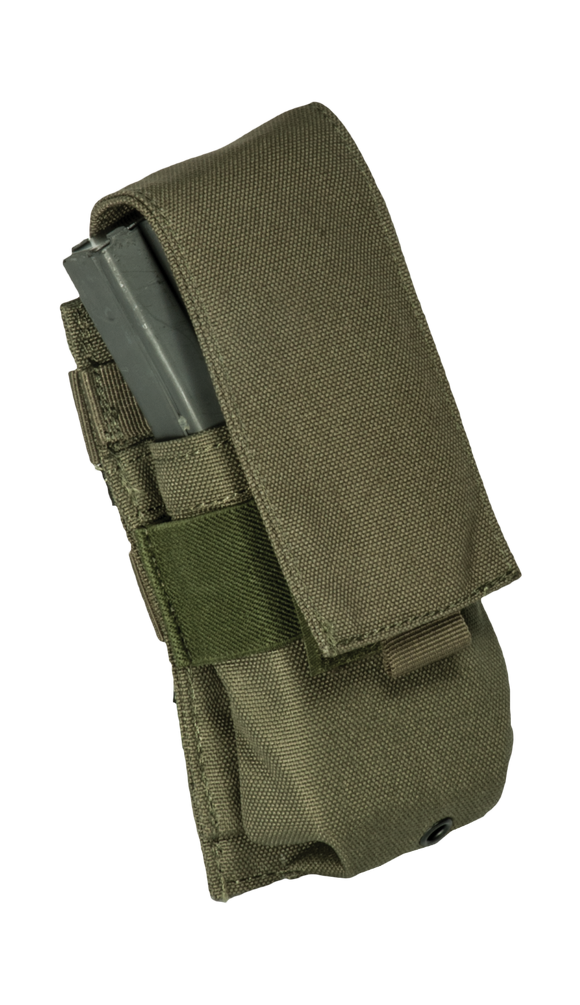 Base M16 covered single mag pouch