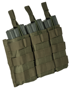 Base M16 open top bungee triple mag