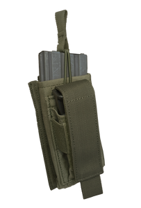 Base M16 & pistol mag, kangaroo open touch bungee single