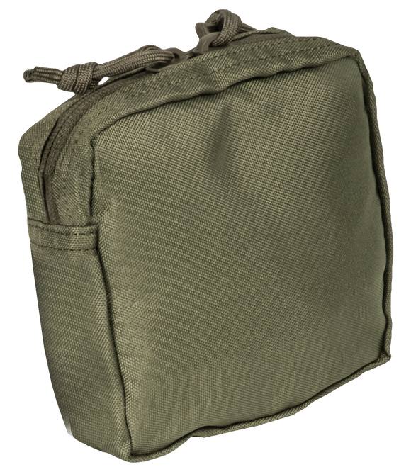 Base Utility pouch 5x5 zippered top