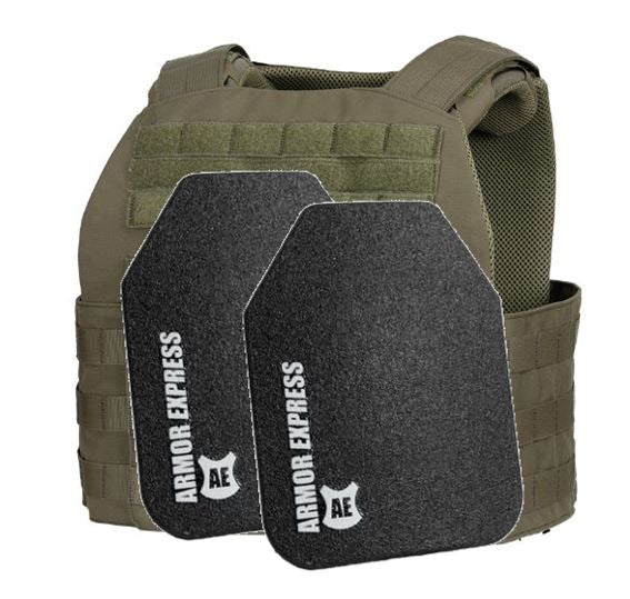 Armor Express Fearless Plate Carrier / Level III+ Plate Combo