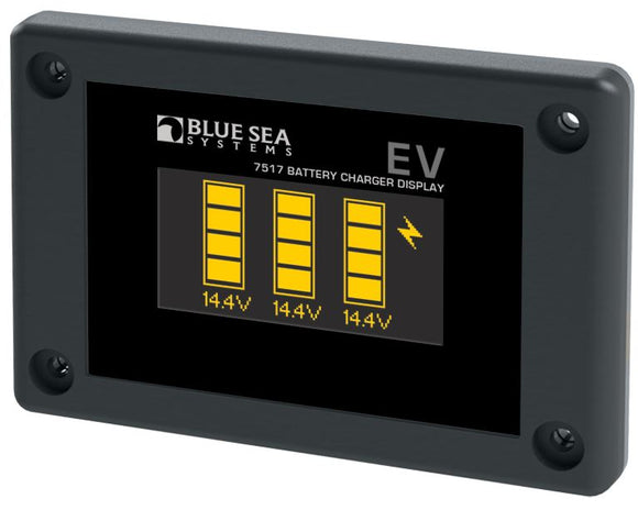 Blue Sea Systems Emergency Vehicle Display for P12 Chargers
