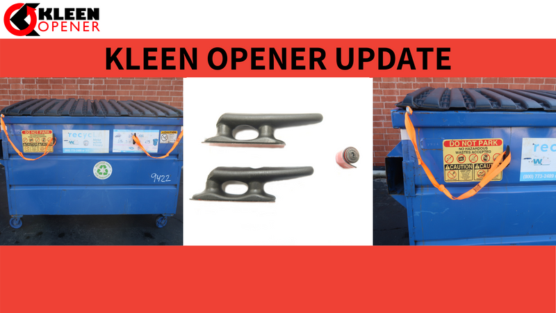 Introducing the Nylon Strap Cleat: Kleen Opener Product Update