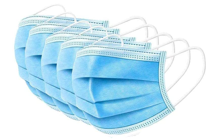 Disposable Face Mask | 10 pack
